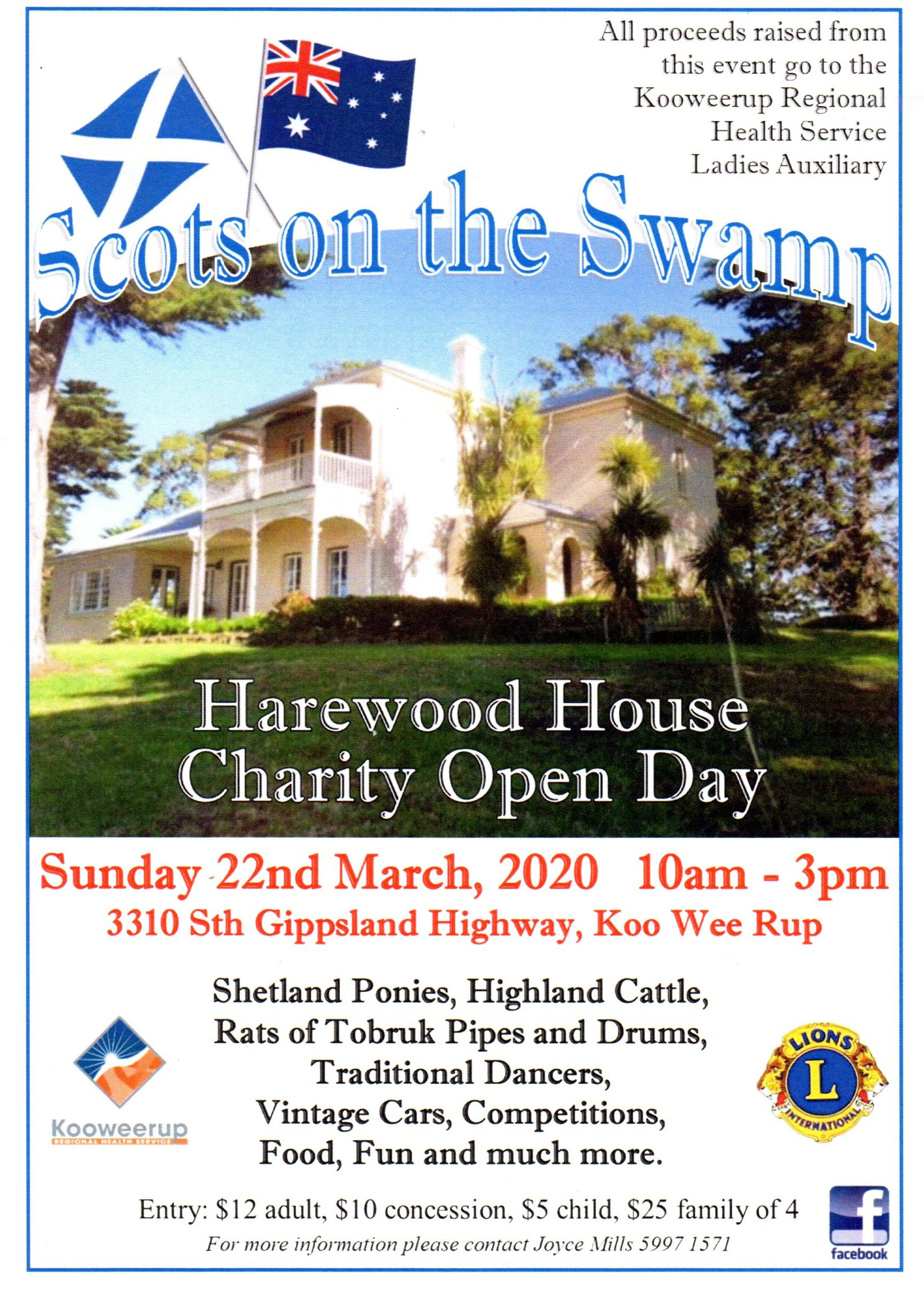 Scots on the Swamp Harewood March 22 2020